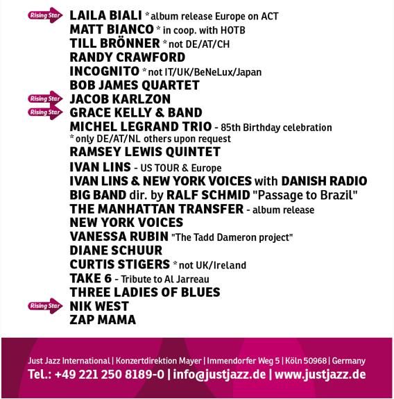 Just Jazz International