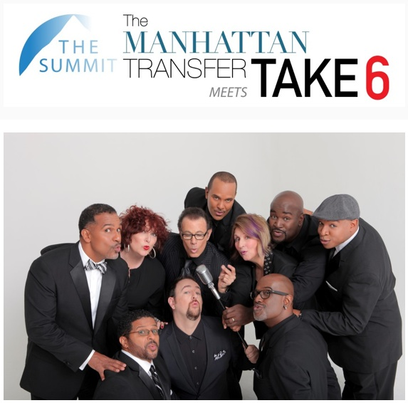 Manhattan Transfer meets Take 6