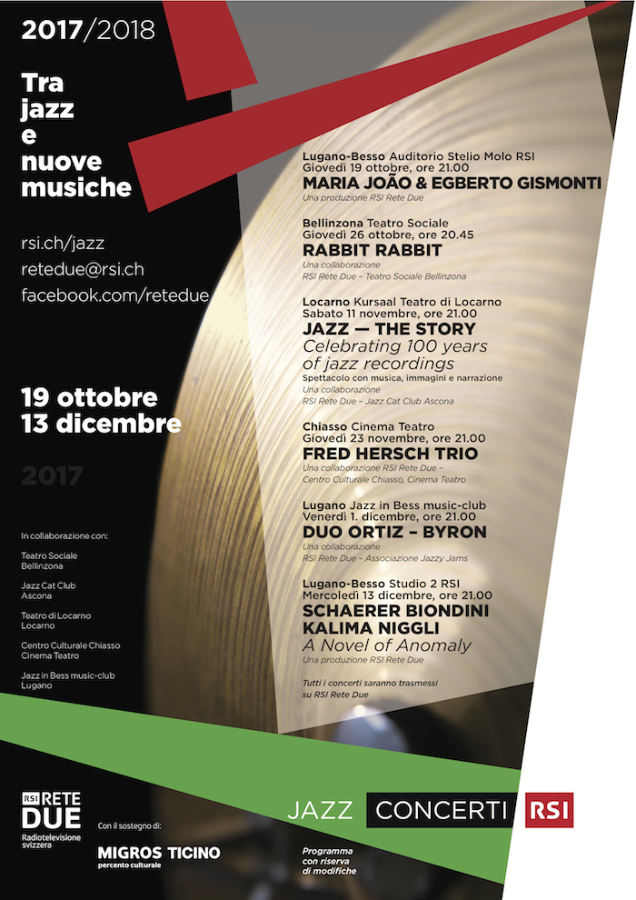 Tra Jazz e Nuove Musiche 2017-2018