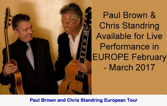 Paul Brown & Chris Standring